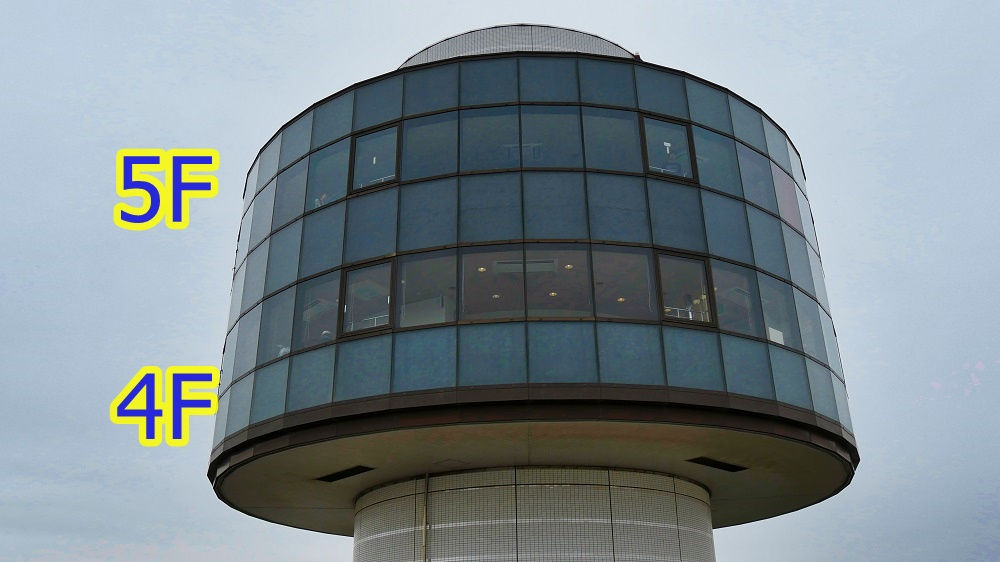 航空科学博物館の中央棟