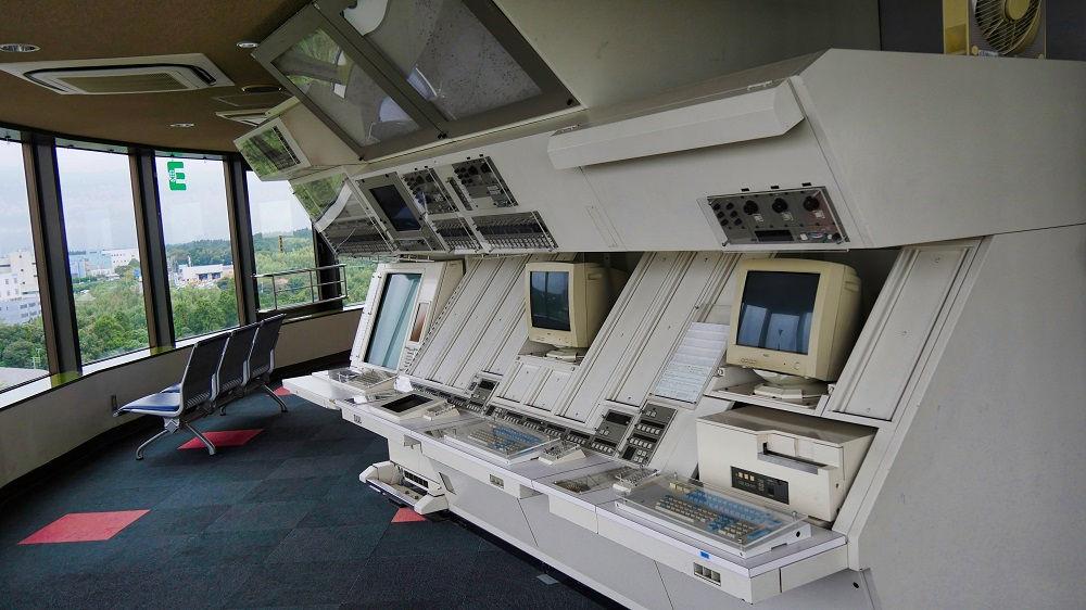 航空科学博物館5Fの展示機材