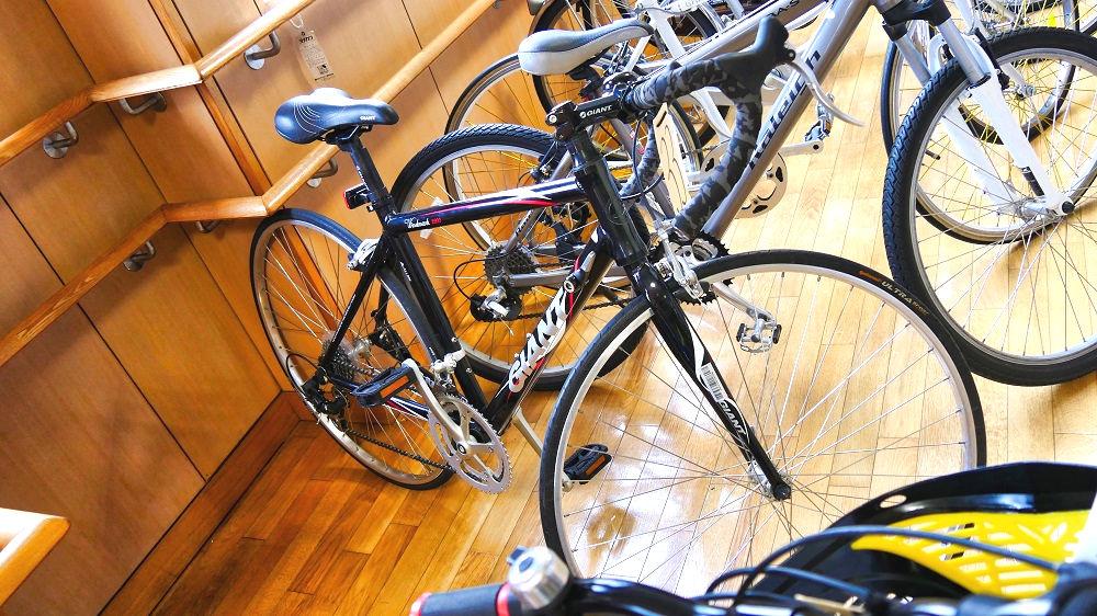 成田市リサイクルプラザの「フリ-マーケットと再生品即売会」ロードバイク