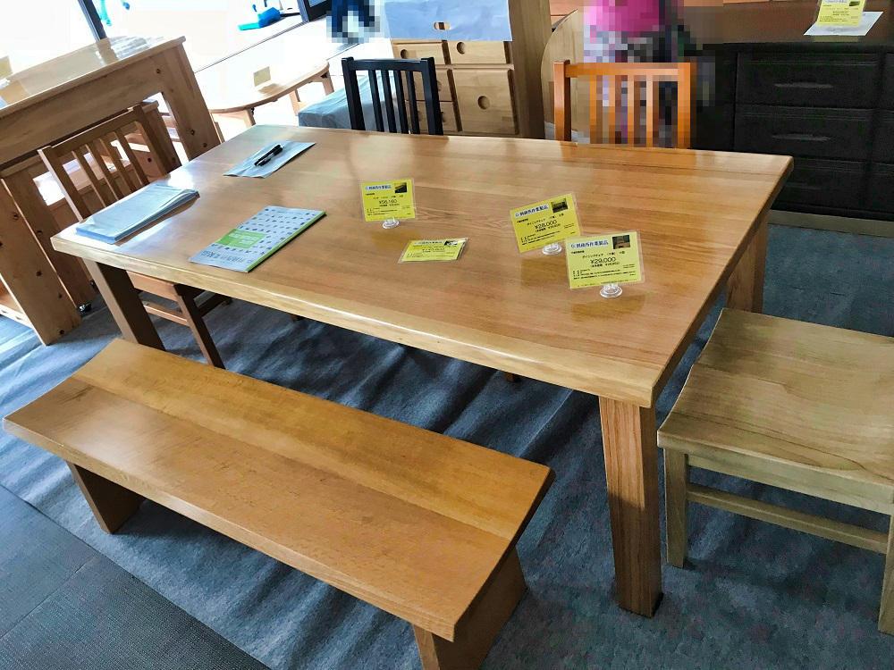 千葉刑務所のダイニングテーブル