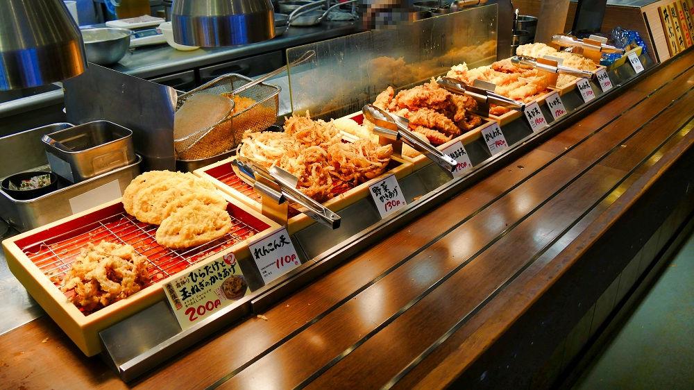 丸亀製麺の天ぷら類