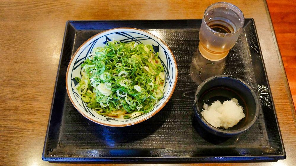 丸亀製麺の、ぶっかけ(並)