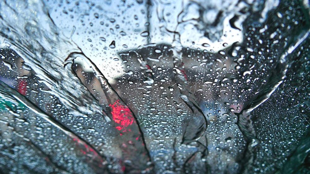 コスモ石油の洗車内
