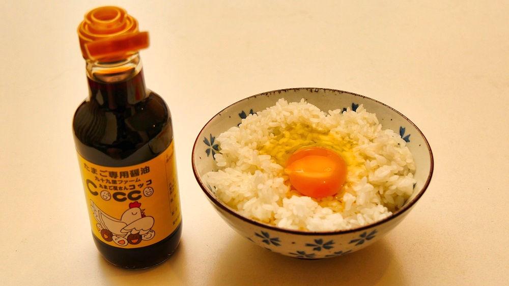 『たまご屋さんコッコ』の生卵専用醤油