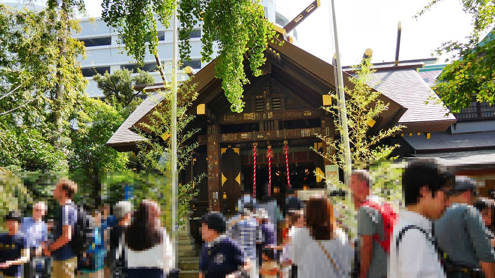 波除神社の境内