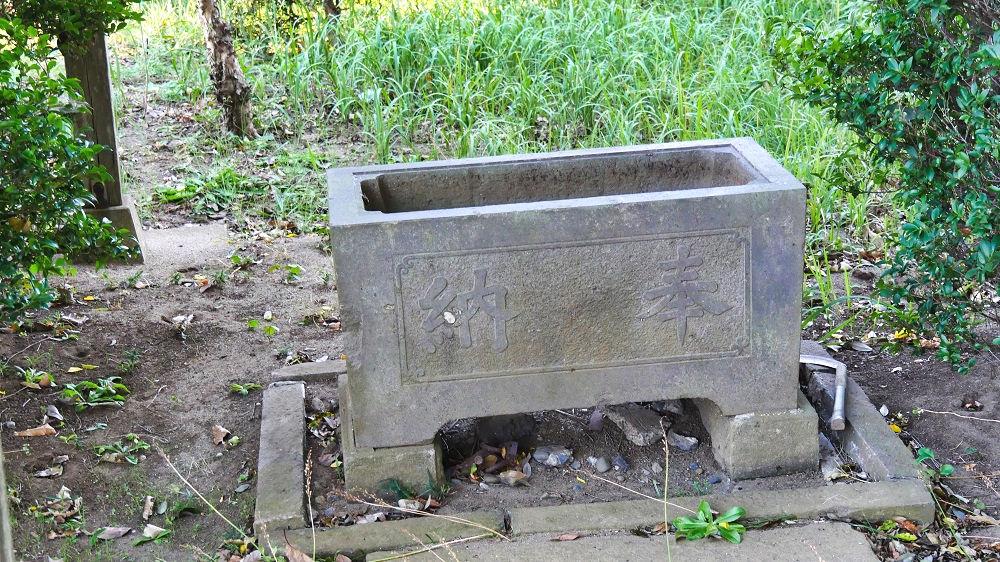 東峰神社の手水舎
