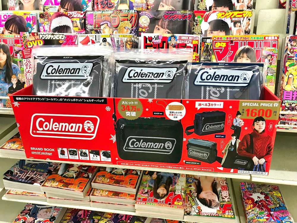 colemanのショルダーバッグ付きムック本