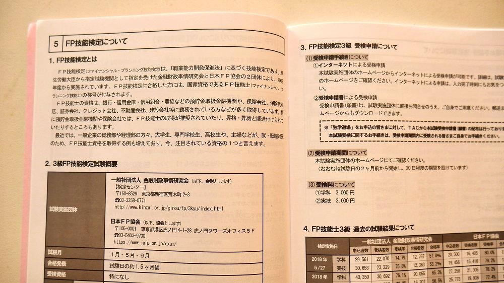 TAC独学道場FP3級版学習ガイド