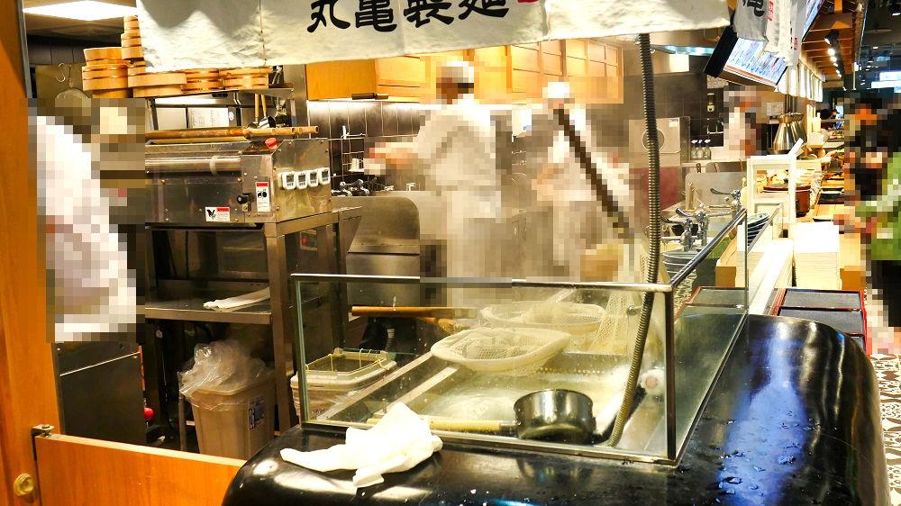 丸亀製麺「高雄左営店」の店内