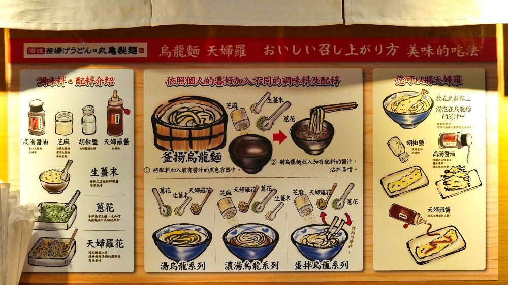 丸亀製麺「高雄左営店」の食べ方ガイド