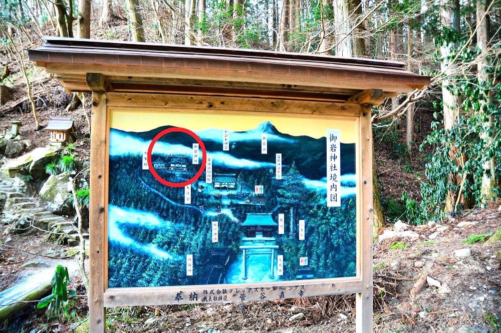 御岩神社ルート