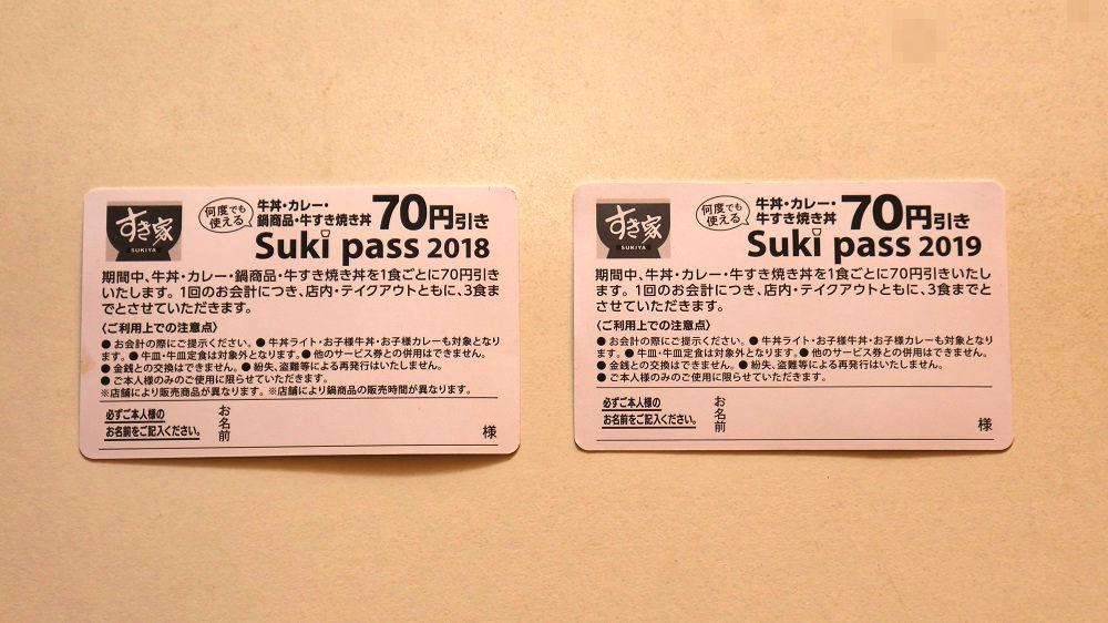 すき家の『すきパス(Sukipass)』