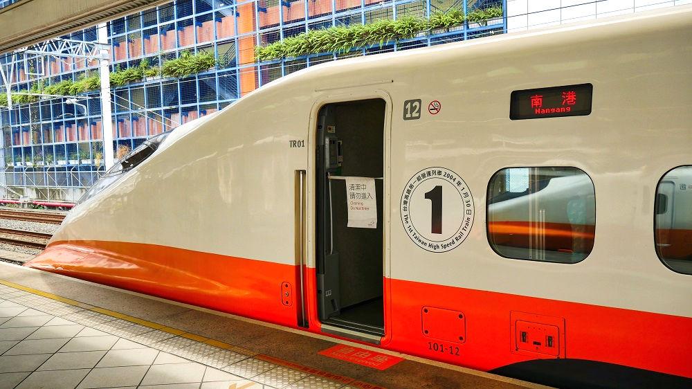 台湾新幹線の導入一号車
