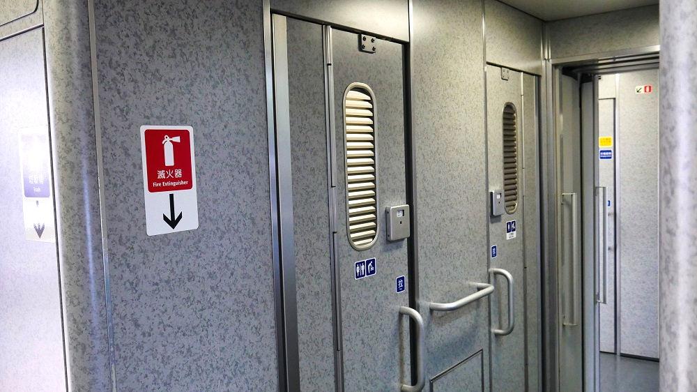 台湾新幹線のトイレ