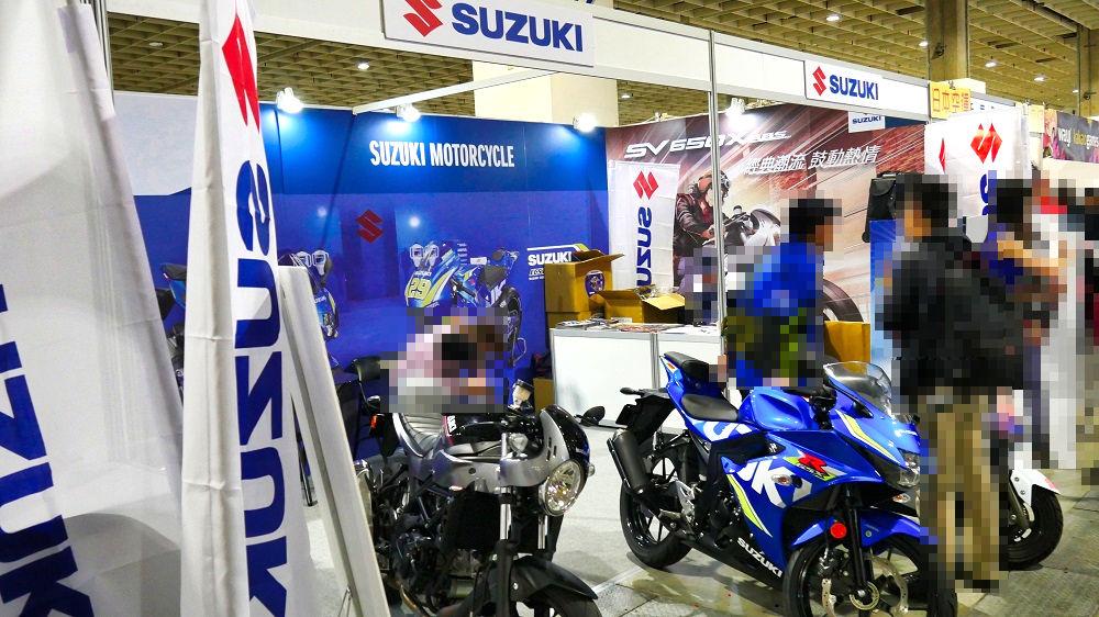 第7回台北国際動漫節(TICA)SUZUKIブース