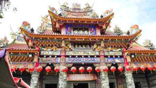 台湾高雄の慈濟宮