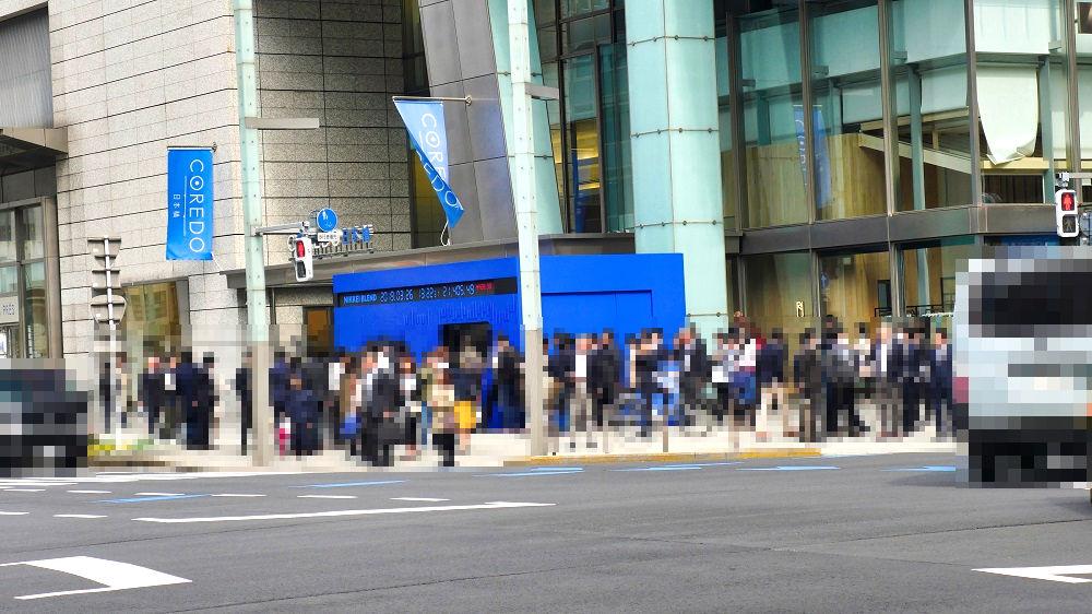 コレド日本橋1階エントランススペース