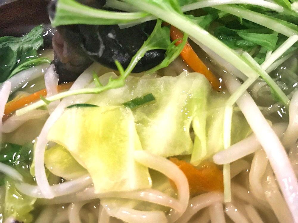 幸楽苑の『ゆず塩野菜ラーメン』