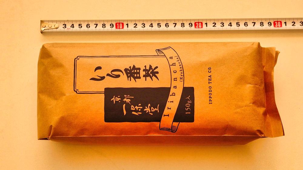 一保堂の「いり番茶」のパッケージ