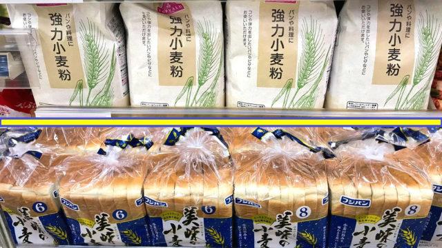 小麦粉価格とパン価格