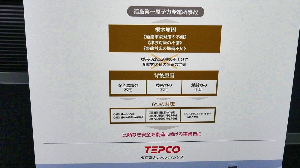東京電力「廃炉資料館」反省と教訓