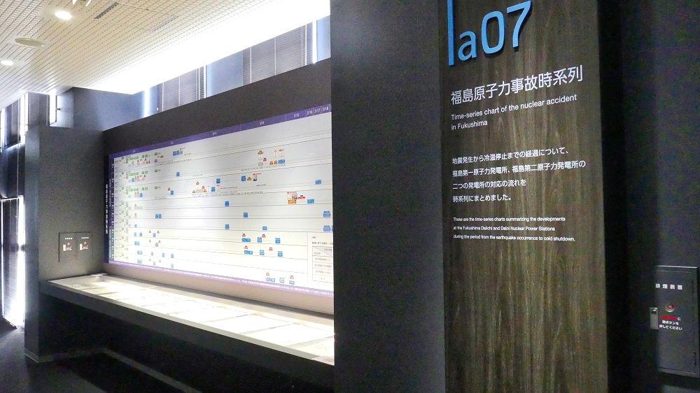 東京電力「廃炉資料館」福島原子力事故時系列