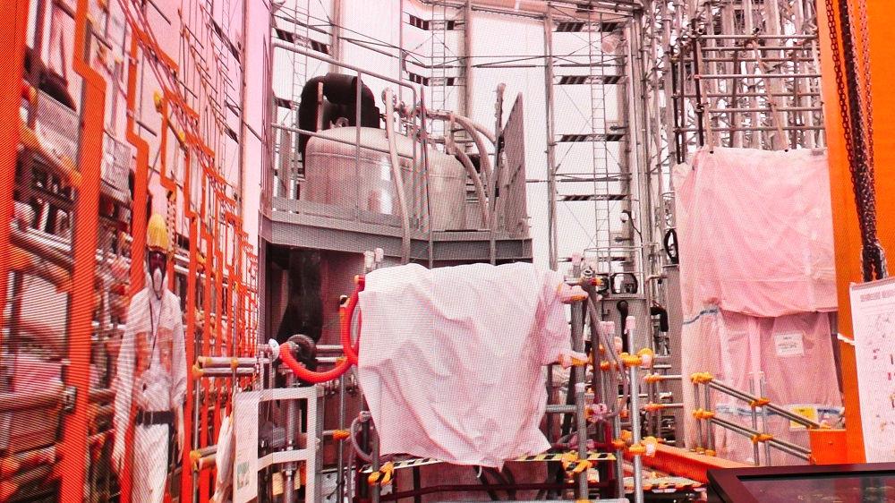 東京電力「廃炉資料館」エフ・キューブ