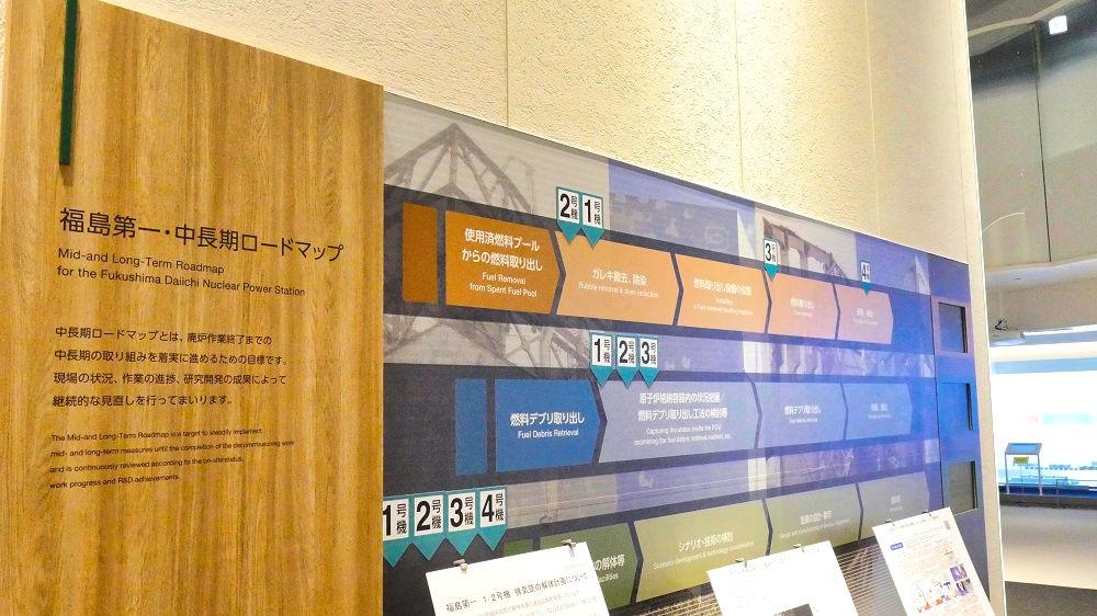 東京電力「廃炉資料館」福島第一・中長期ロードマップ