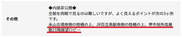 堺観光ガイド『仁徳天皇陵古墳』より
