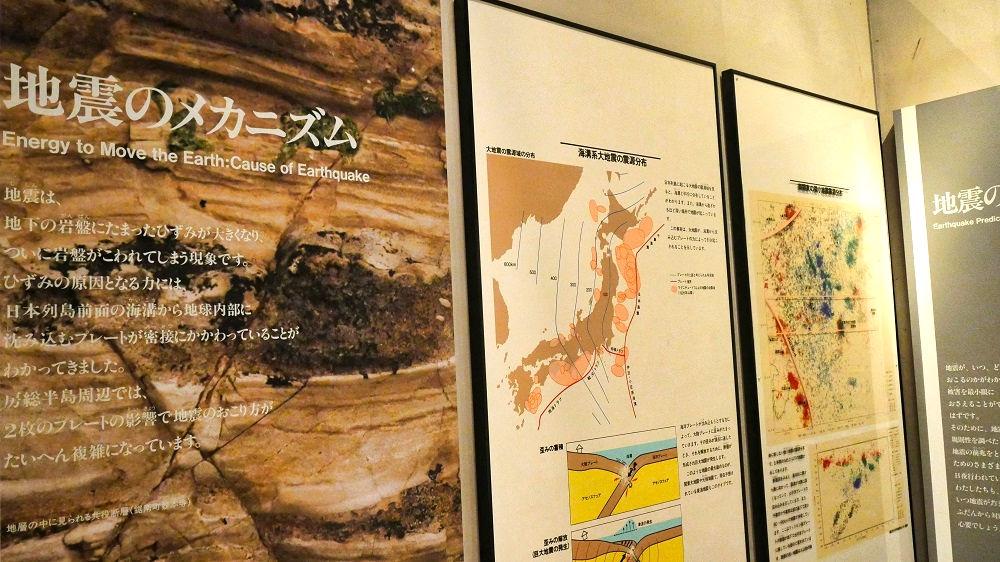 房総の地学展示室