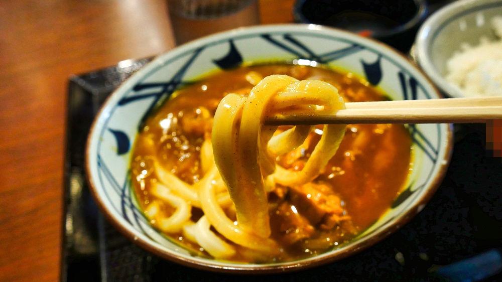 丸亀製麺「千葉ニュータウン中央」店のカレーうどん