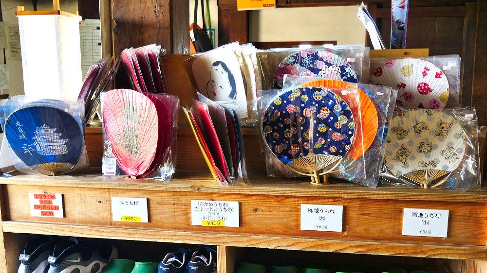 丸亀城の天守閣お土産スポット