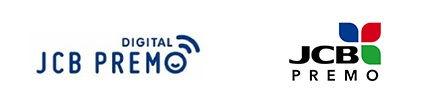 JCBプレモデジタルの各種ロゴ