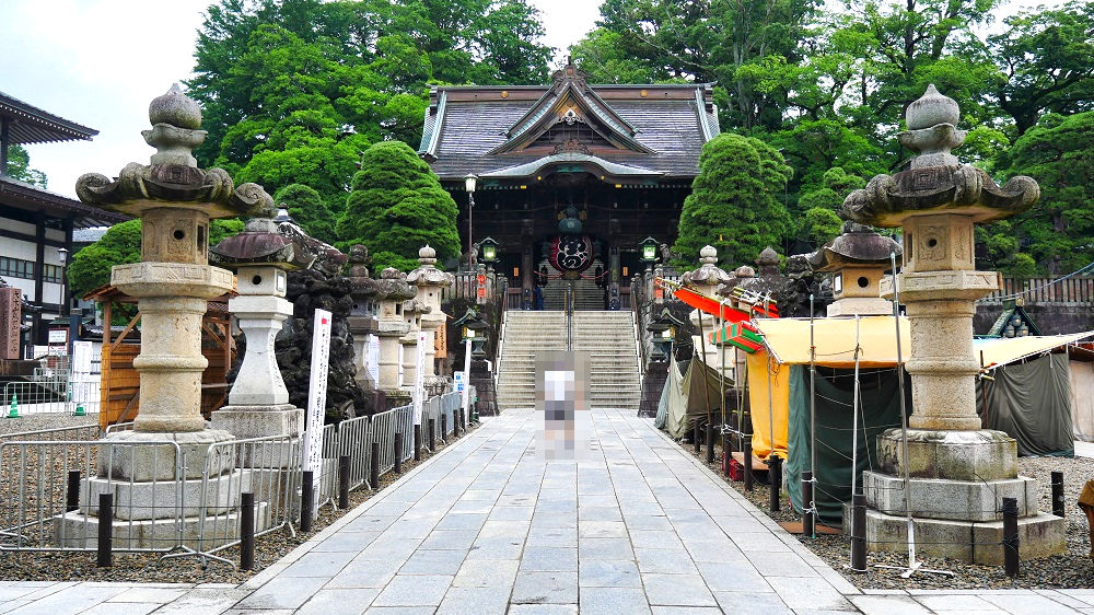 成田山新勝寺の総門