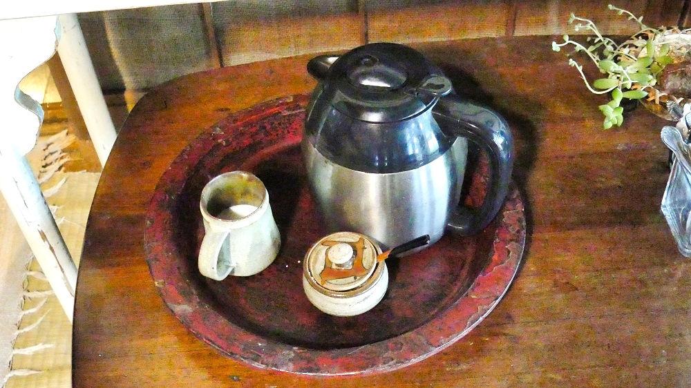 古民家空間 風楽(ふら)のオーガニックコーヒー