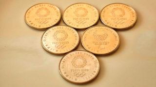 東京オリンピック・パラリンピック競技大会記念貨幣(百円クラッド貨幣)第2弾