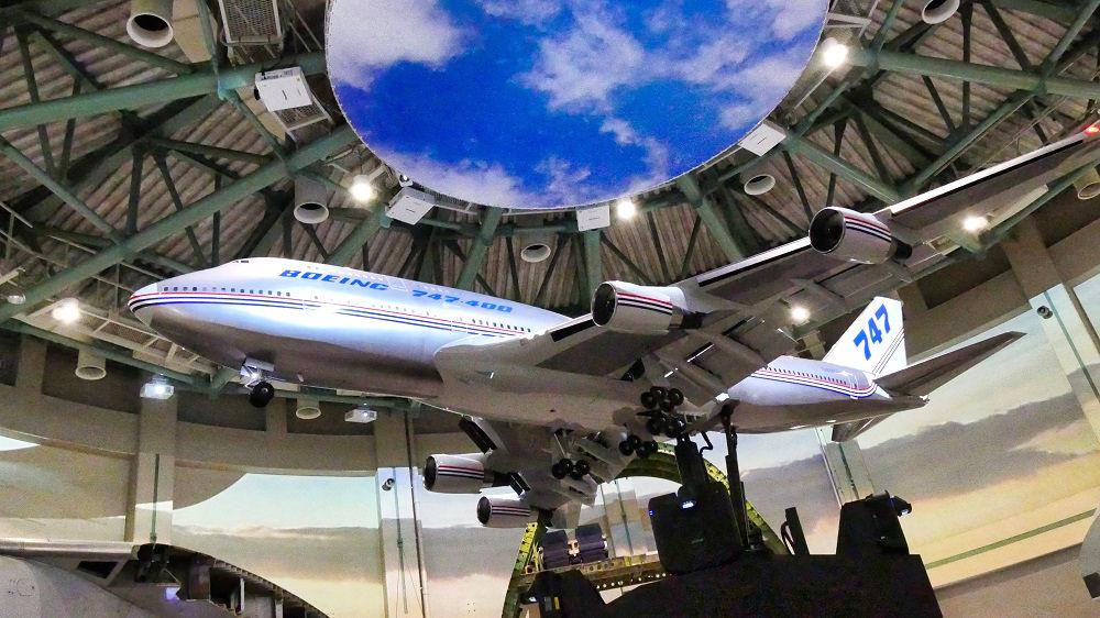 航空科学博物館の【西棟】