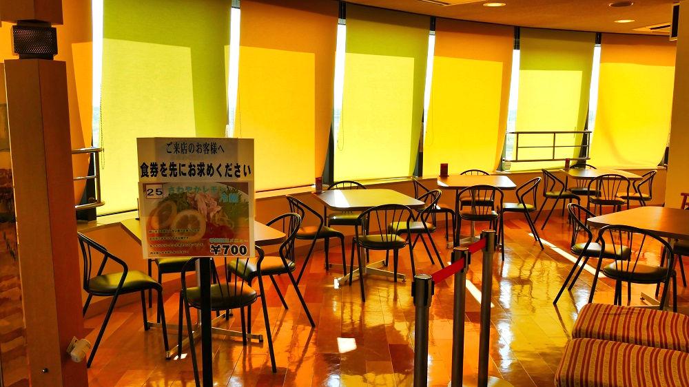 航空科学博物館の【中央棟4階】レストランBalloon