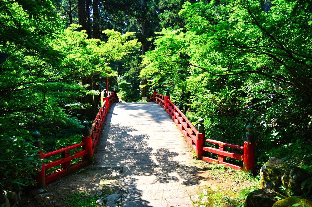 羽黒山参詣道の橋