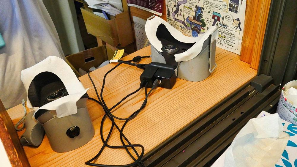 羽黒山五重塔特別拝観、VR装置