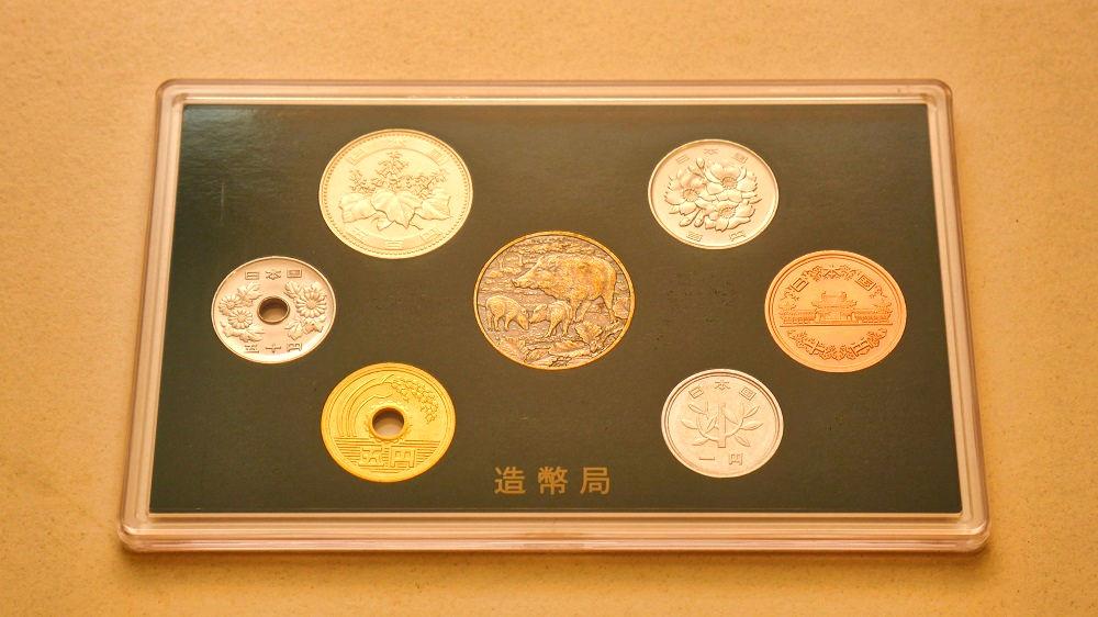 『平成31年銘ミントセット』表面