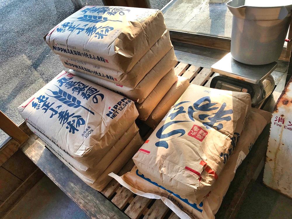 丸亀製麺は小麦粉から店内製麺しています