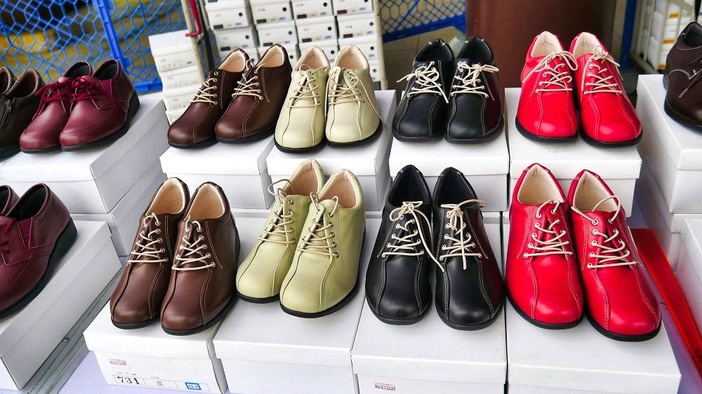 千葉刑務所製の革靴類