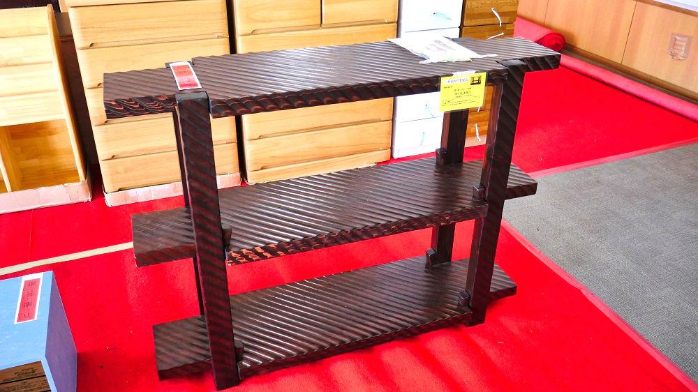 宮城刑務所製「飾り棚」、14,480円