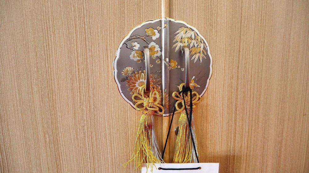 千葉刑務所製「総桐和タンス」、細部の装飾