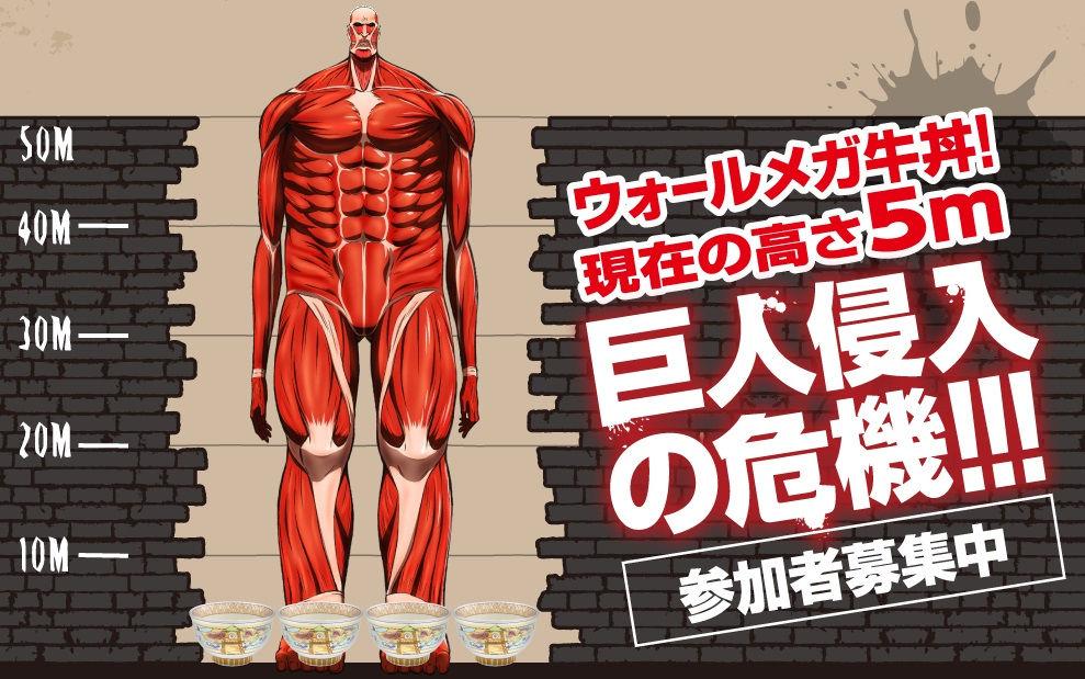 超大型任務『メガ牛丼完食』キャンペーンの進捗状況