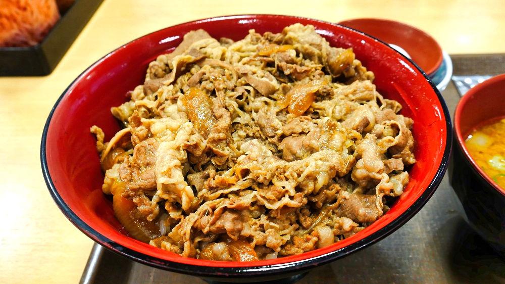すき家の「メガ牛丼」