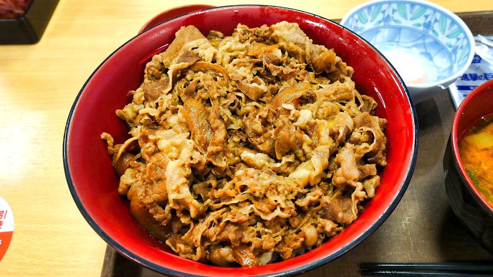 すき家のメガ牛丼