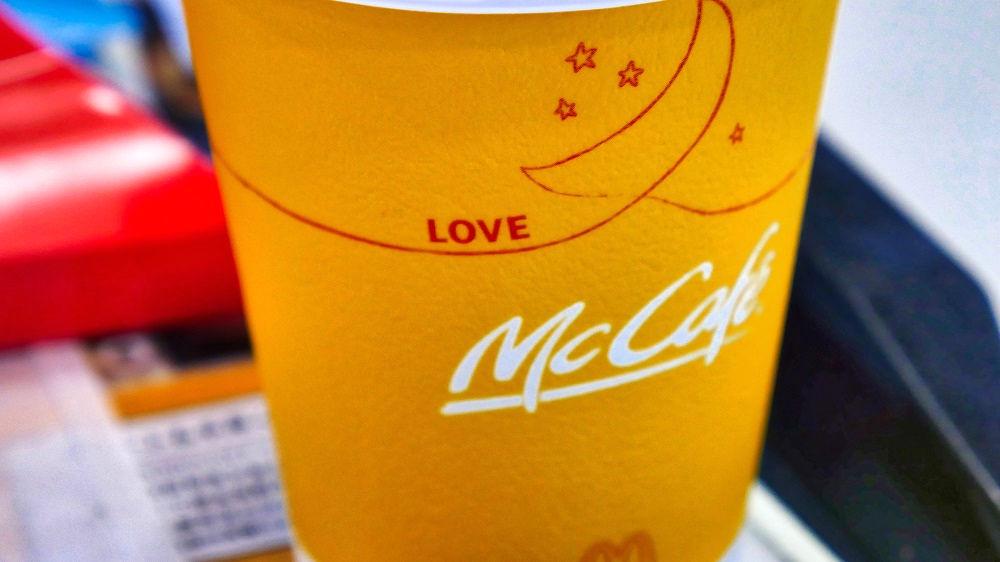 新プレミアムローストコーヒーのカップ