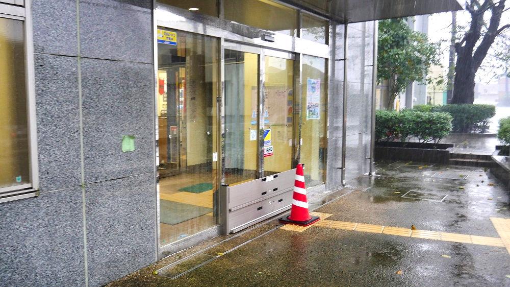 2019年10月25日三里塚消防署前周辺の道路情報